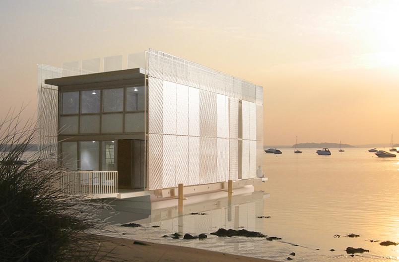 Floating-House-sea