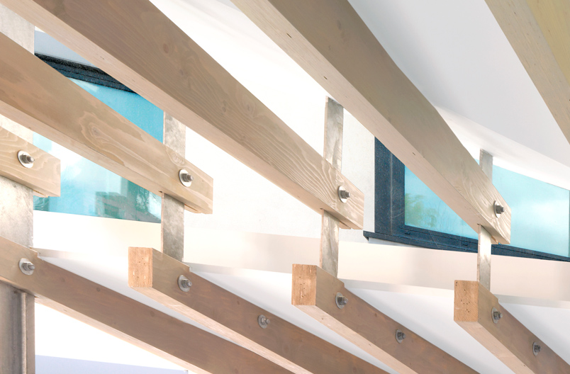 Shoreditch-Loft-kitchen-roof