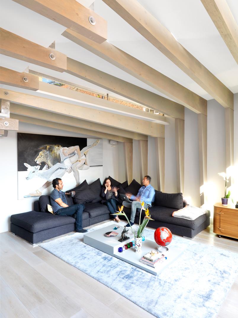 Shoreditch Loft Living Room