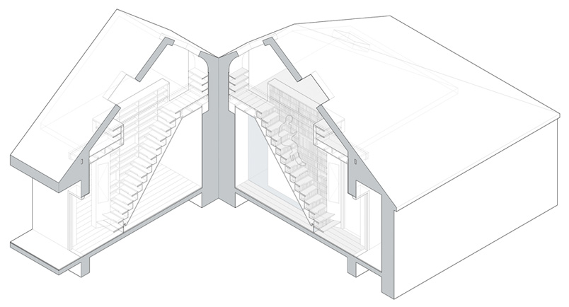 Bookcase-Staircase-isometric